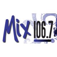 Logo of radio station KCHX 106.7 FM