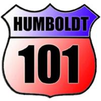 Logo of radio station Humboldt 101