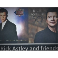 Logo of radio station 80S RICK ASTLEY AND FRIENDS