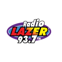Logo of radio station KXZM Radiolazer 93.7