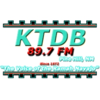 Logo of radio station KTDB