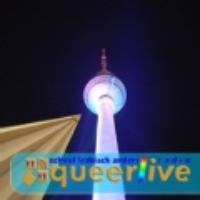 Logo of radio station Laut fm Queer Live Berlin