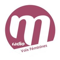 Logo of radio station M RADIO VOIX FEMININES