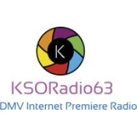 Logo of radio station KSORadio63