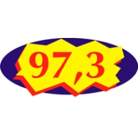 Logo of radio station Rádio 97.3 FM Colatina