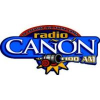Logo of radio station XHTGO Radio Cañon 1100 AM