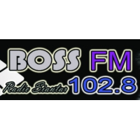 Logo of radio station Boss FM