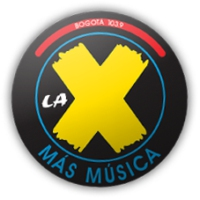 Logo of radio station La X FM