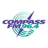 Logo de la radio Compass FM 96.4