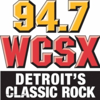 Logo of radio station WCSX 94.7 FM