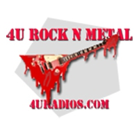 Logo of radio station 4U radios - Rock N Metal