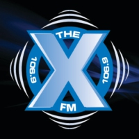 Logo of radio station 106.9 The X