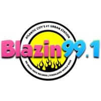 Logo de la radio Blazin 99.1