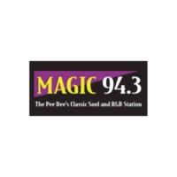 Logo of radio station WCMG Magic 94.3