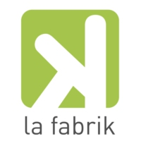 Logo of radio station La Fabrik