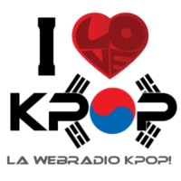 Logo of radio station I Love K-pop