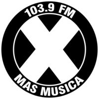 Logo of radio station La X Más Música 103.9 FM