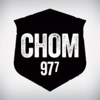 Logo of radio station CHOM 97.7