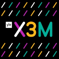 Logo of radio station Yle X3M