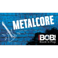 Logo of radio station RADIO BOB! Metalcore