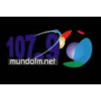 Logo of radio station Mundo 107.9 FM
