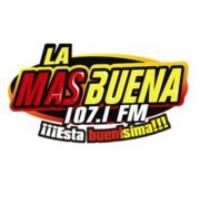 Logo de la radio La Más Buena FM