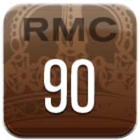 Logo of radio station RMC 90