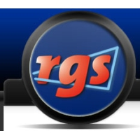 Logo of radio station RGS FM