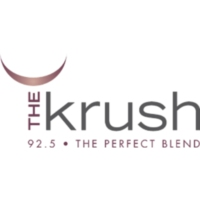 Logo of radio station The Krush 92.5