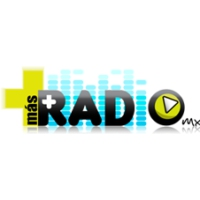 Logo of radio station MasRadioMX