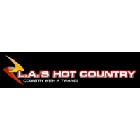 Logo of radio station L.A.'s Hot Country