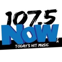 Logo of radio station KQPT 107.5 NOW-FM