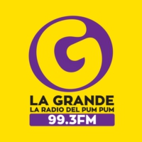 Logo of radio station La Grande 99.3