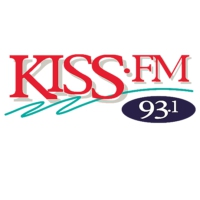 Logo of radio station KSII 93.1 KISS FM