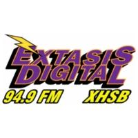 Logo de la radio XHSB Extasis Digital 94.9 FM