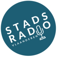 Logo of radio station Stadsradio Vlaanderen