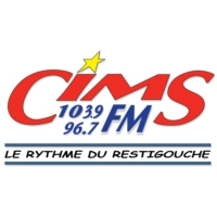 Logo of radio station CIMS Radio Restigouche 104 FM