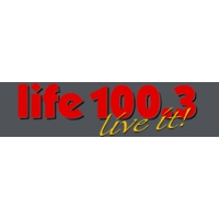 Logo of radio station CJLF (Life 100.3)