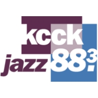 Logo of radio station KCCK