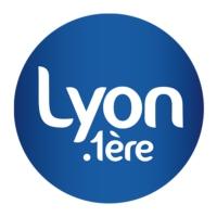 Logo of radio station Lyon 1ère