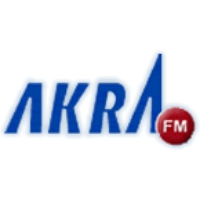Logo of radio station Akra FM