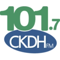 Logo of radio station CKDH