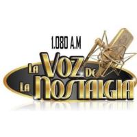 Logo of radio station La Voz de la Nostalgia