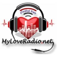 Logo of radio station MyLoveRadio