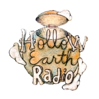 Logo de la radio Hollow Earth Radio