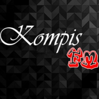 Logo of radio station Kompis FM