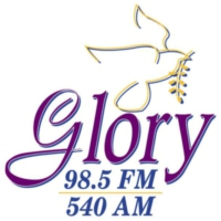 Logo de la radio WBZF Glory 98.5 FM