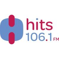 Logo of radio station XHITS Hits 106.1 FM