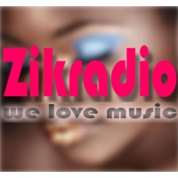 Logo of radio station zikradio we love music