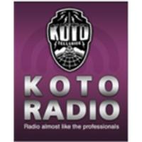 Logo of radio station KOTO NPR